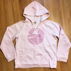 5/$20 Old Navy Pink Pullover Hoodie Size 14